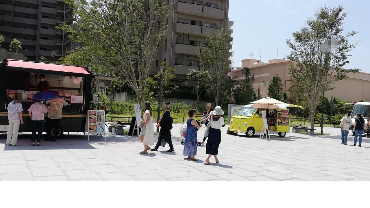 茅ヶ崎市役所広場キッチンカー